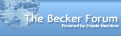 The Becker Forum